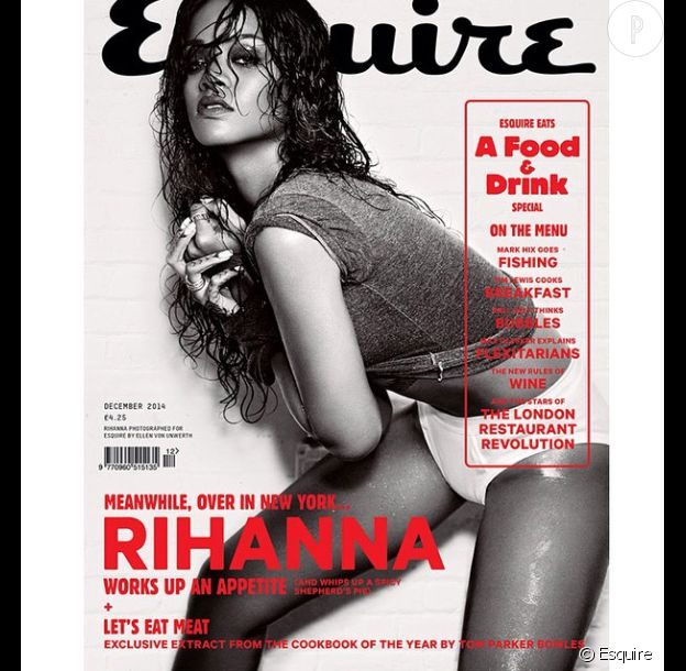 Rihanna en couverture d'Esquire.