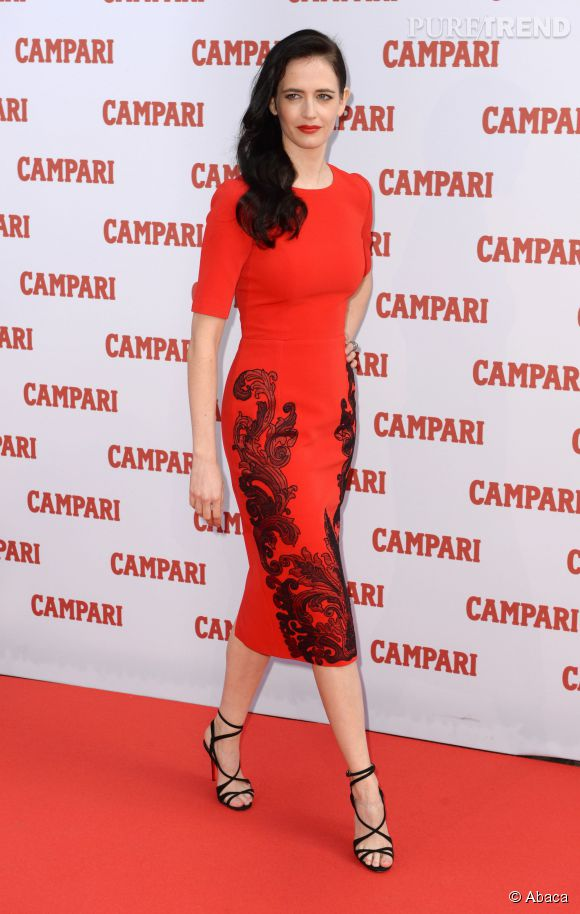 Eva Green au lancement du calendrier 2015 de la marque Campari à Londres le 5 novembre 2014.