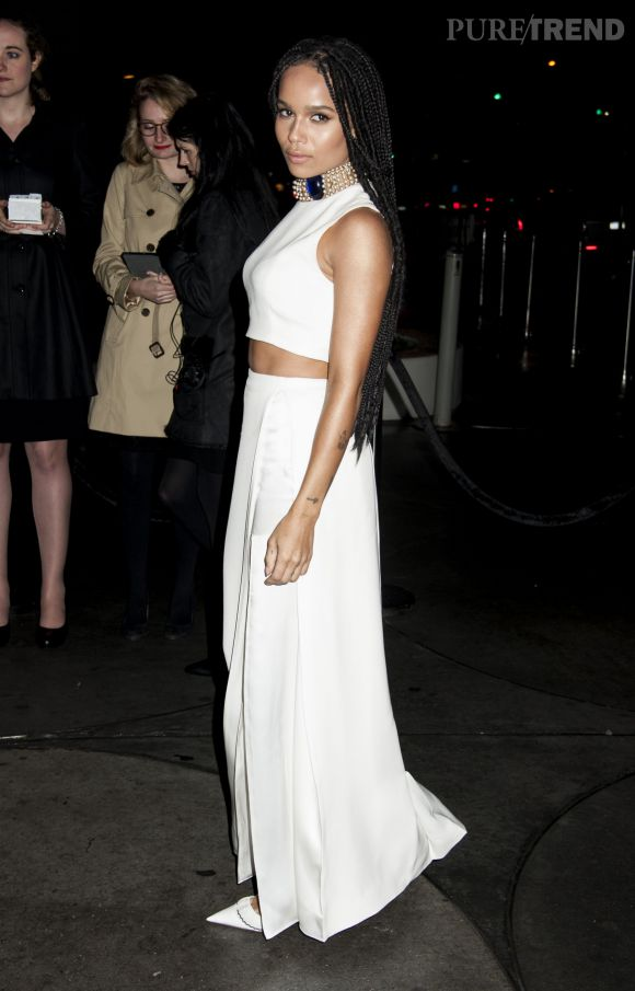 Zoë Kravitz cultive de plus en plus la ressemblance avec sa maman Lisa Bonet.