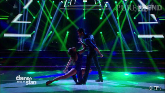Ce samedi, Nathalie Péchalat et son partenaire Christophe Licata ont offert aux téléspectateurs une danse torride et magnifique...