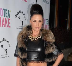 Katie Price se rend à la soirée Bootea Shake à Londres le 12 novembre 2014.