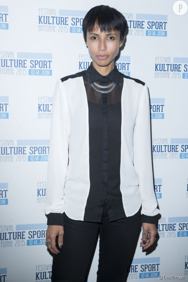 La plus discrète des ex-Miss France a fait une apparition remarquée lors d'une conférence de presse pour le festival Kulture Sport.