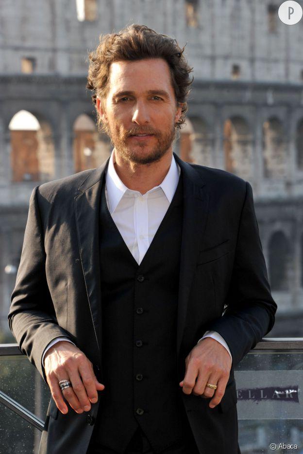 Matthew McConaughey, l'acteur de l'année 2014.