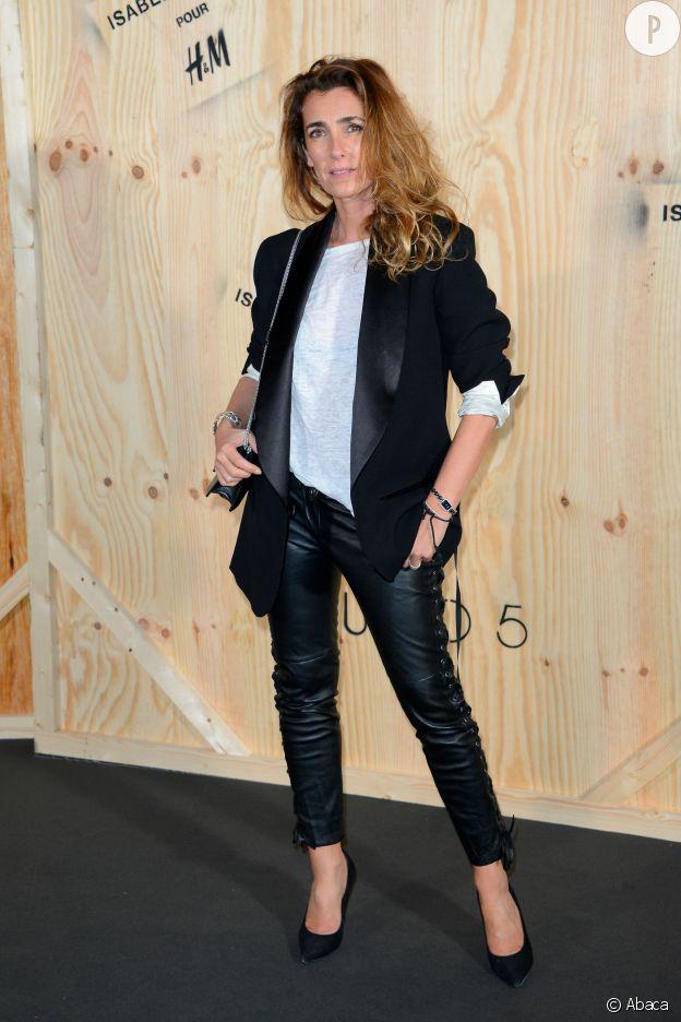 Impossible pour Mademoiselle Agnès de ne pas être à la soirée de lancement de la collection Isabel Marant pour H&M en octobre 2013.