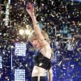 Pour fêter le Nouvel An, Taylor Swift a chanté à Times Square, à New York.