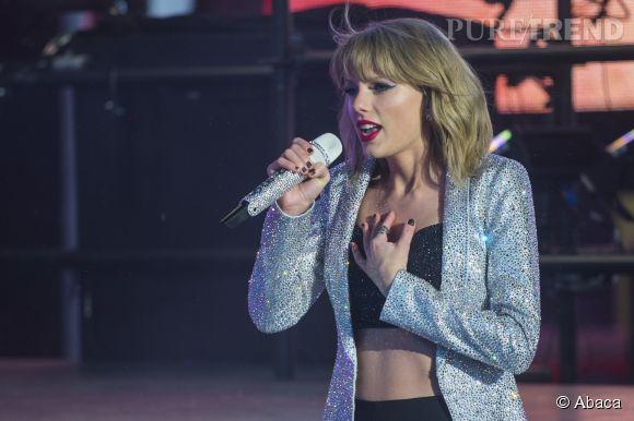 "Taylor Swift a enflammé New York avec son tube ""Shake It Off""."