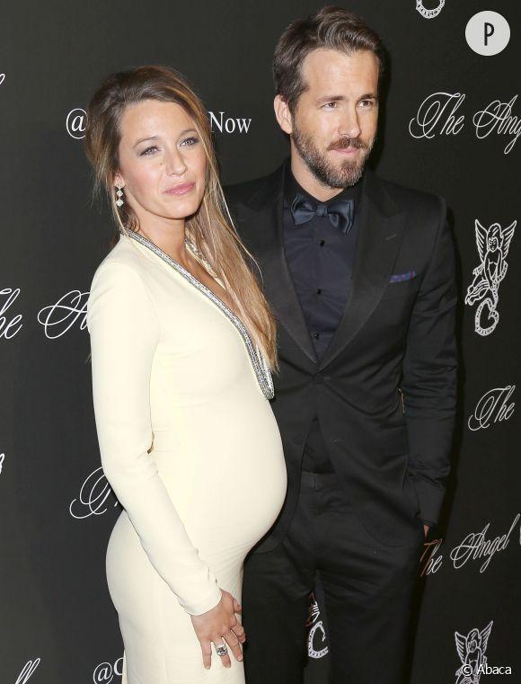 Blake Lively et Ryan Reynolds rayonnent au Angel Ball 2014.