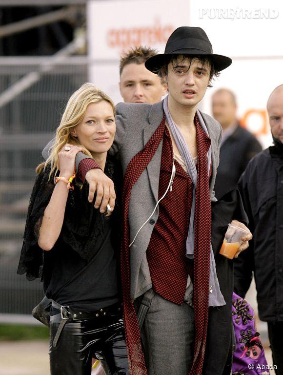 Peter Doherty est connu pour ses frasques mais aussi pour sa relation avec Kate Moss.