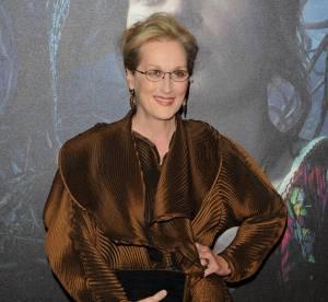 """Meryl Streep : une allure folle à l'avant première de """"Into the woods"""""""