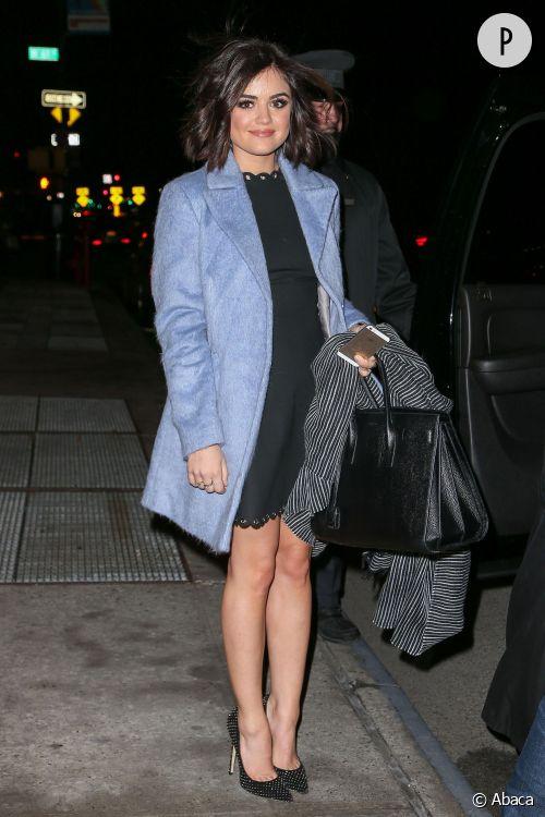 Lucy Hale : la plus belle pour sortir cet hiver... à shopper !