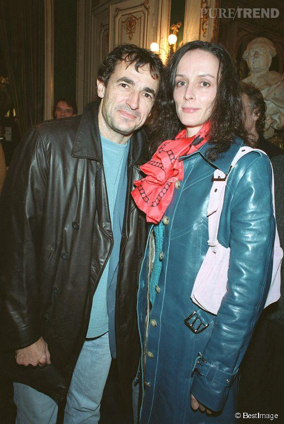 Albert Dupontel et sa compagne, l'actrice Claude Perron.