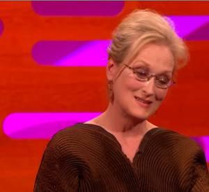 """Meryl Streep revient sur sa pire audition sur le plateau du """"Graham Norton Show"""" sur la BBC."""