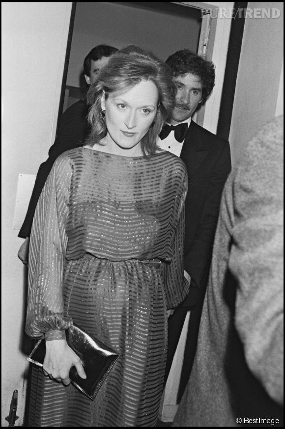Meryl en 1983. On a quand même vu plus laide...