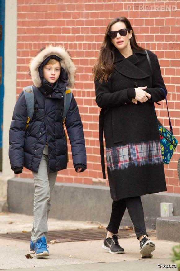 Liv Tyler a déjà un fils de 10 ans, Milo. On ne connait pas le sexe de ce deuxième enfant. Patience.