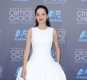Marion Cotillard : une jolie mariée aux Critics Choice Movie Awards