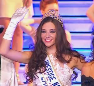 Miss Flandre, alias Margaux Deroy, a été élue Miss Prestige National 2015 hier.
