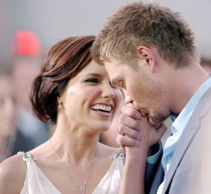 Sophia Bush et Chad Michael Murray en 2005.