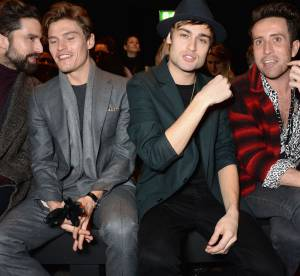 Charlie Hunnam, Douglas Booth... les beaux gosses de la Fashion Week hommes