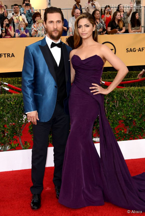 Matthew McConaughey, jamais sans sa femme canon, Camila Alves.
