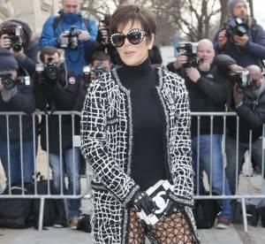 Kris Jenner sans culotte ? La quinquagénaire très coquine au défilé Chanel