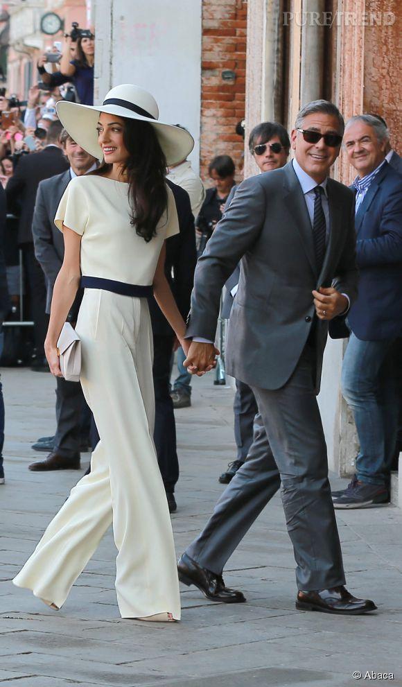 Amal Clooney souhaiterait que son époux retrouve sa silhouette d'antan.
