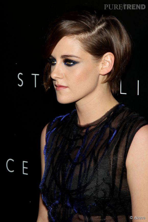 Kristen Stewart, regard charbonneux pour un maximum de sensualité.
