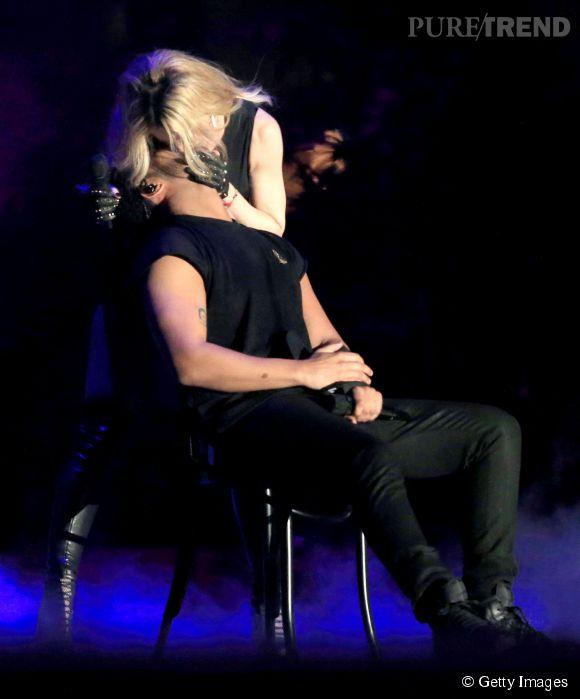 Madonna embrasse Drake de force à Coachella.
