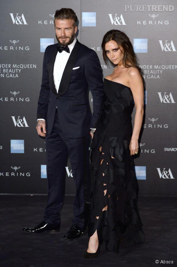 Victoria Beckham, David publie une photo dossier de leur couple