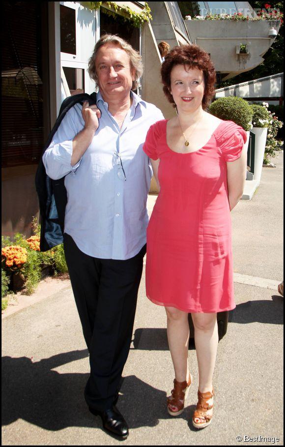 Anne Roumanoff avec son mari Philippe Vaillant
