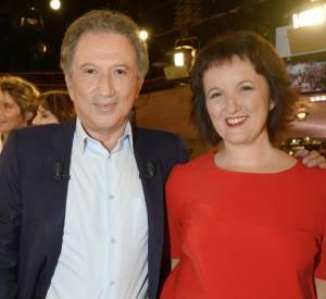 Anne Roumanoff et Michel Drucker