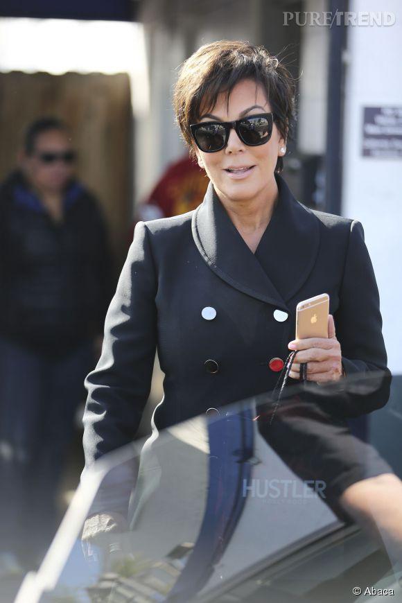 """Kris Jenner serait  """"humiliée""""  par le changement de sexe de son ex-mari, à croire les médias américains."""