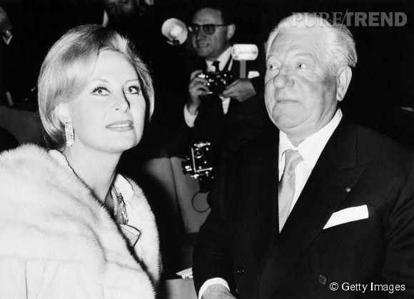 Michèle Morgan et Jean Gabin, un duo de légende au cinéma, immortalisé en 1964 .