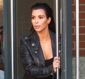 Kim Kardashian : Ses fesses surdimensionnées attirent les passants !