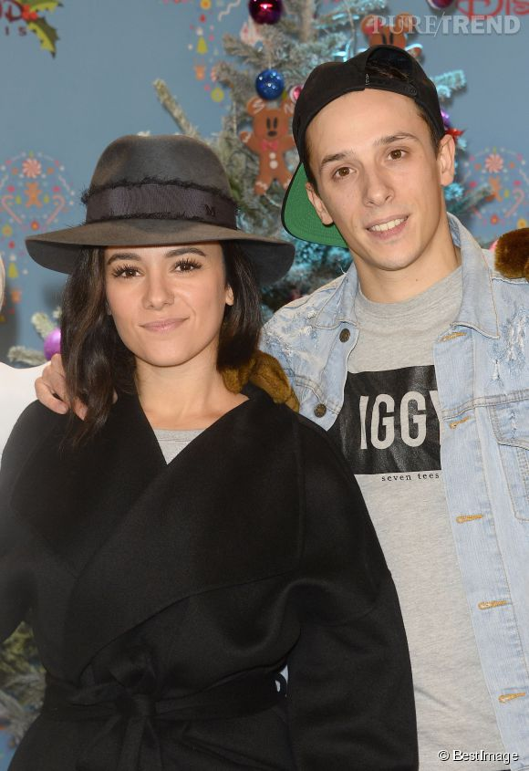 Alizée et Grégoire Lyonnet ont été rejoints par des amis en Corse.