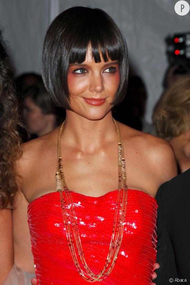Katie Holmes au Met Ball en 2009.