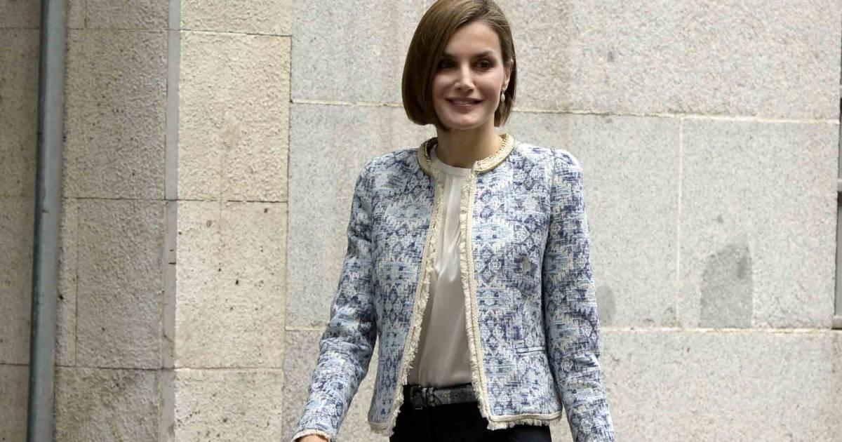 Letizia Ortiz : pantalon moulant et talons hauts, le combo