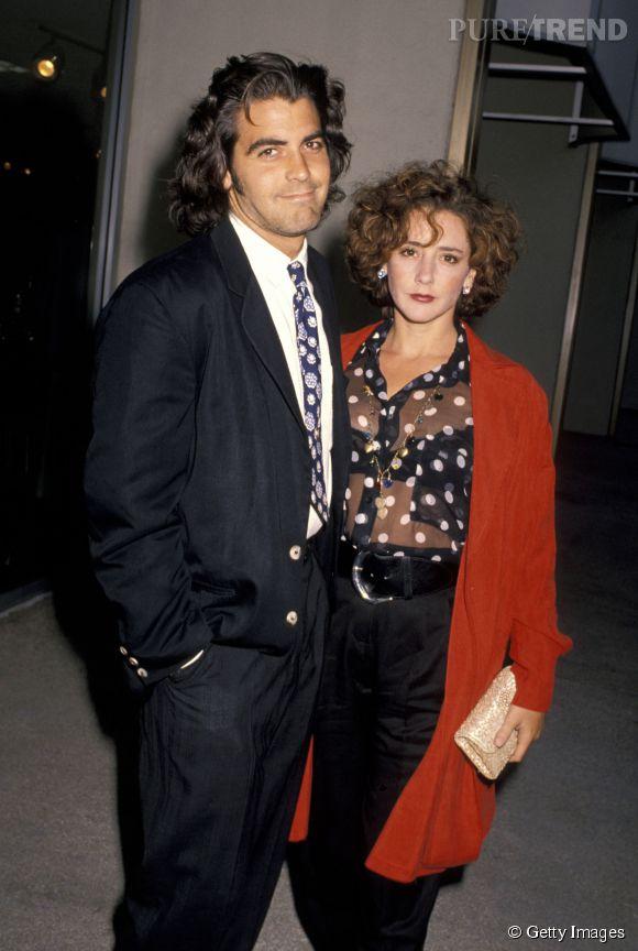 En 1989, George Clooney épouse Talia Balsam. Mais n'est clairement pas le sex-symbol que l'on connaît maintenant.