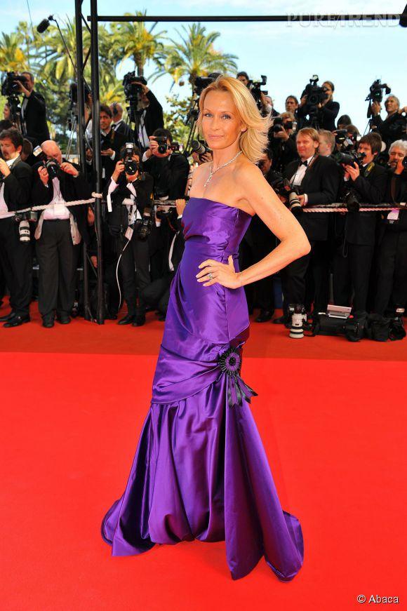 Estelle Lefébure au Festival de Cannes de 2010.