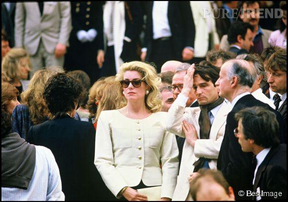 Catherine Deneuve au Festival de Cannes en 1985.