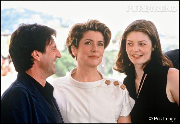 Catherine Deneuve et sa fille Chiara Mastroianni au Festival de Cannes de 1993.