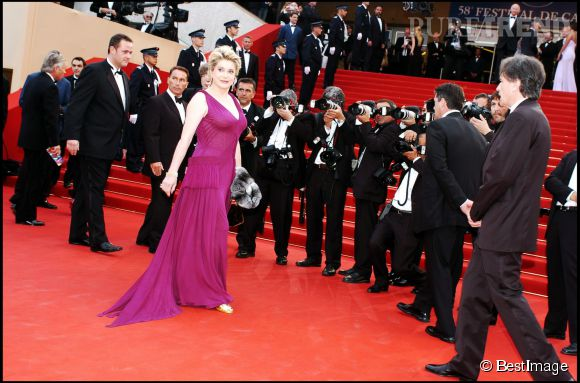 Catherine Deneuveau Festival de Cannes 2005.