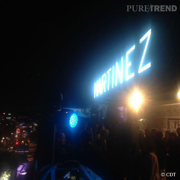La soirée L'Oréal Paris x Unifrance a eu lieu au 7e étage du Martinez à Cannes.