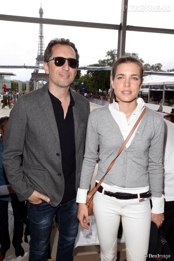 Gad Elmaleh et Charlotte Casiraghi : un couple très discret.