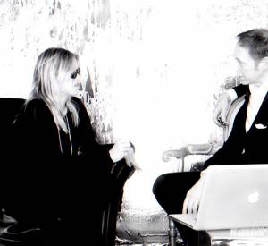 Interview de Kate Moss face à Nick Knight.