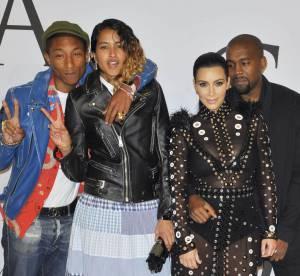 Kim Kardashian : sa robe prend feu, Pharrell Williams lui sauve la vie !
