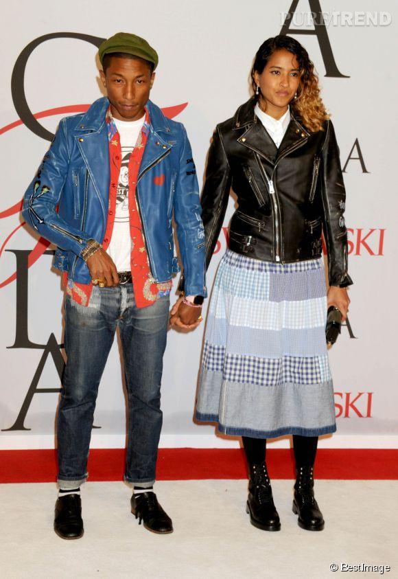 Pharrell Williams et sa femme, Helen Lasichanh.