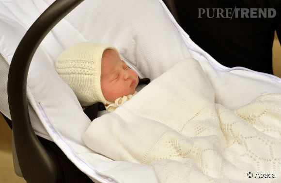 Charlotte sera baptisée le 5 juillet à Norfolk.