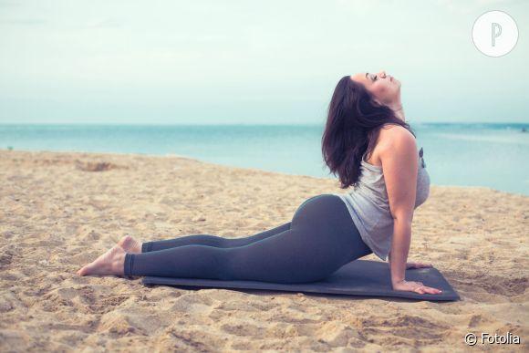 Le yoga n'est pas réservé aux filles minces !