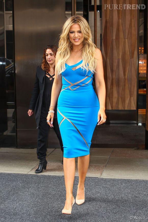 Khloe Kardashian s'insurge contre les rumeurs de liposuccion. Sa silhouette amincie, elle dit la devoir au sport.