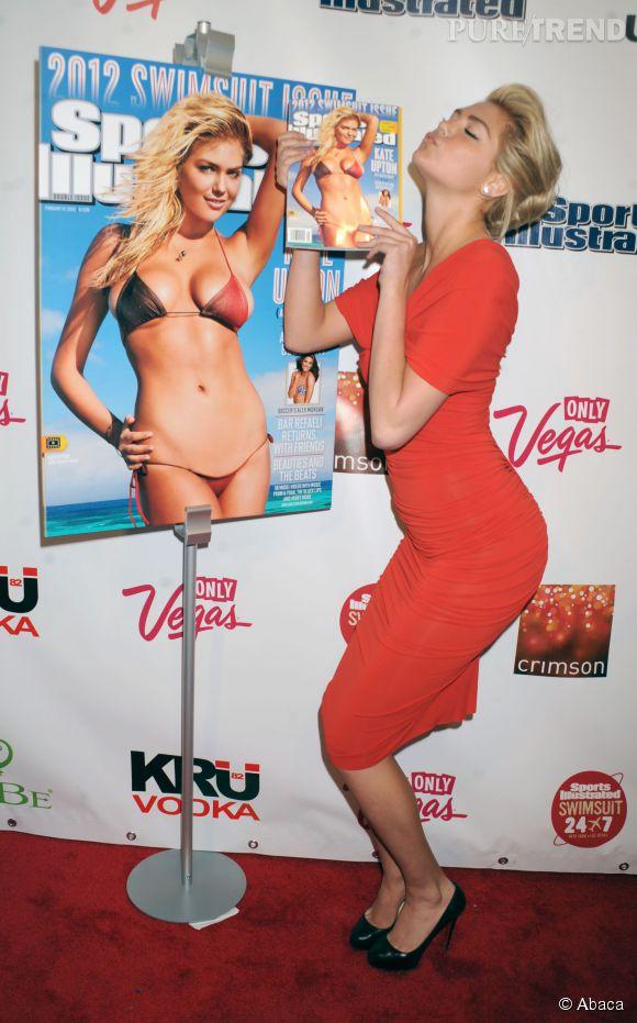 La belle blonde peut dire merci à Sports Illustrated qui lui a permi de se faire connaître du grand public.